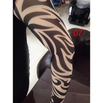 Ống Tay Áo Chống Nắng Hình Xăm Tattoo (giao màu ngẫu nhiên)