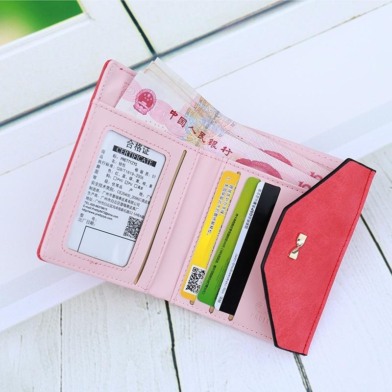 Hình ảnh Premium PU Leather Multifunctional Fashion Women Wallet - intl