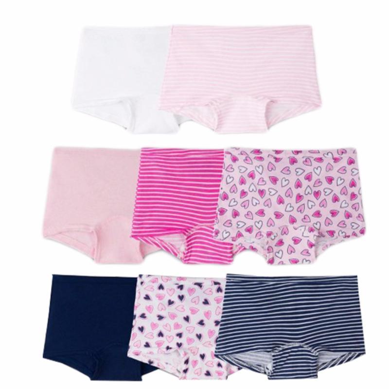 Nơi bán Set 11 quần chip bé gái Fruit of Loom Boy Shorts Pinky