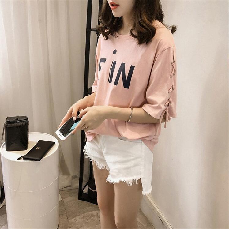Giá KM TB Korean version plus fat to increase women's clothing-Pink – intl
