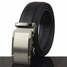 Thắt lưng - dây nịt nam, CAM KẾT da bò THẬT 100% mẫu mới  (màu đen1252)