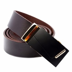 Thắt lưng nam da bò 100% NHT-193-VN021 (Nâu Vàng)