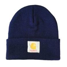 20972a8ddcf Toprank Men Ladies Casual Knitted Woolen Winter Elastic Slouch Beanie Hat  Cap Skateboard ( Navy Blue ) - intl