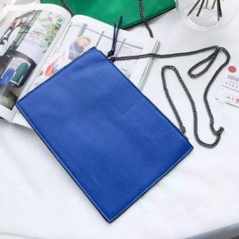 Túi cầm tay thời trang Zara xanh blue