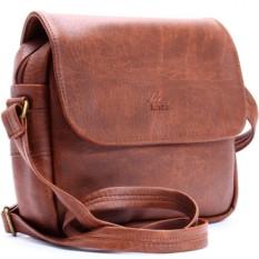 Túi đeo chéo LATA HN00 (Da bò đậm )
