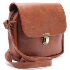 Túi đeo chéo LATA HN07 (Da bò đậm )