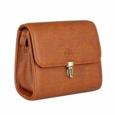 Túi đeo chéo nữ LATA HN22 (Da bò đậm)