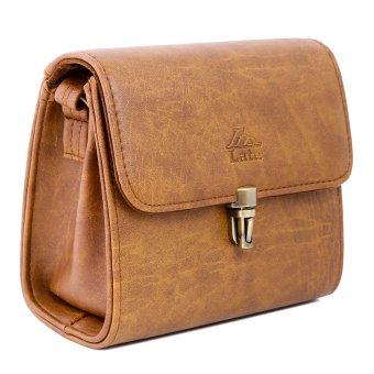 Túi đeo chéo nữ LATA HN22 (Da bò nhạt)