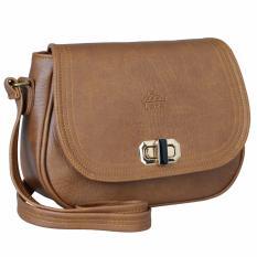 Túi đeo chéo thời trang nữ LATA HN27 (Da bò nhạt)
