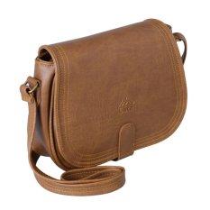 Túi đeo chéo thời trang nữ LATA HN28 (Da bò nhạt)