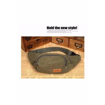 Túi đeo Hông màu nâu - TX24 - 2