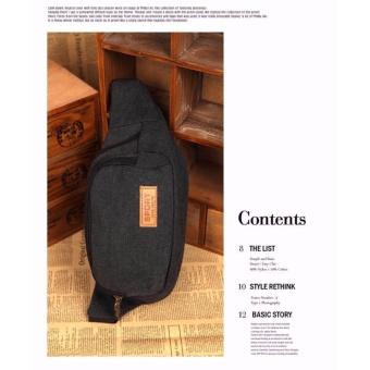 Túi đeo Hông màu nâu - TX24 - 3