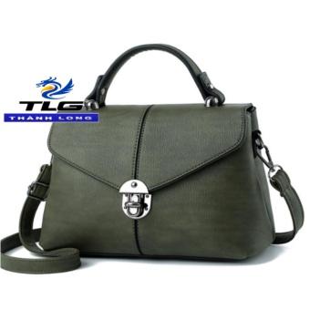 Giá Khuyến Mại Túi nữ thời trang phong cách Đồ Da Thành Long TLG 208161 3(xanh)  Đồ Da Thành Long TLG (Hà Nội)