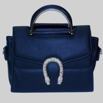 Túi nữ xách tay đeo chéo thời trang DT1329 ( Đen )