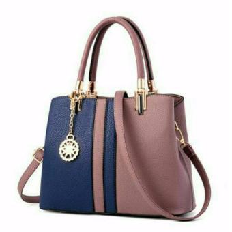 Túi xách công sở nữ da cao cấp 2 màu Letin T68-SPHN-2A6 XÁM XANH
