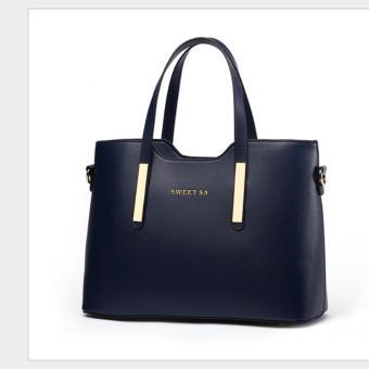 Túi xách nữ SweetSA HH03 xanh đen