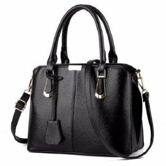 Túi xách tay nữ da cao cấp T6868-15-220 ĐEN