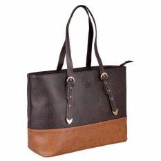 Túi xách tay nữ LATA TX01  (Da nâu)