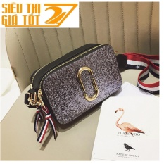 Túi xách tay, túi đeo chéo nữ  thời trang NVERANLAN  KIM TUYẾN lấp lánh LATA - 56 ( TRẮNG) - Siêu thị giá tôt 247