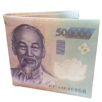Ví Nam in hình tờ tiền 500K