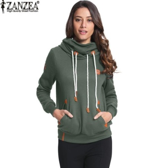 ZANZEA High Quality Women Hoodies Autumn Winter Brushed Fleece Warm Sweatshirt Plus Size Loose Sweatshirts (Army Green) - intl - 8849954 , ZA959FAAA95H8QVNAMZ-18099089 , 224_ZA959FAAA95H8QVNAMZ-18099089 , 827200 , ZANZEA-High-Quality-Women-Hoodies-Autumn-Winter-Brushed-Fleece-Warm-Sweatshirt-Plus-Size-Loose-Sweatshirts-Army-Green-intl-224_ZA959FAAA95H8QVNAMZ-18099089 , lazada.
