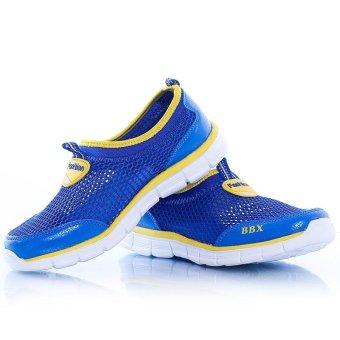 ZOQI Children's Mesh Shoes Light Running Shoes(Blue) - intl