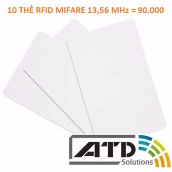 10 thẻ RFID Mifare 13,56 MHz - 8584620 , OE680OTAA6EVV7VNAMZ-11824094 , 224_OE680OTAA6EVV7VNAMZ-11824094 , 90000 , 10-the-RFID-Mifare-1356-MHz-224_OE680OTAA6EVV7VNAMZ-11824094 , lazada.vn , 10 thẻ RFID Mifare 13,56 MHz