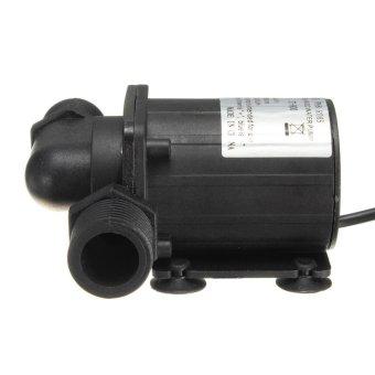 2pcs DC 12V 1000L/H Electric / Solar Brushless Motor Water PumpAquarium Fountain New - intl - 3