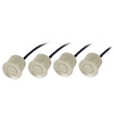 4pcs Auto Car Parking Sensor Detector Reverse Back Up Ultrasonic Radar Monitor System (Gold) - intl