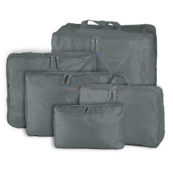 5 in 1 Travel Storage Bag Journey Organizer Bag Travel Bags In Bag Grey