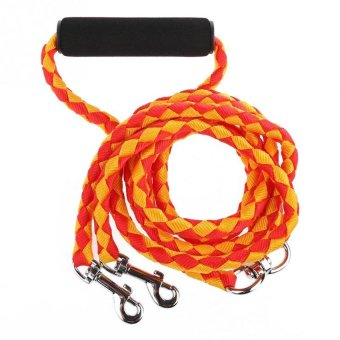 56�x9D Long Pet Parade No-Tangle Dual Dog Leash. Double DogLeashCoupler for 2 Dogs - intl - 8578460 , OE680OTAA5FPU9VNAMZ-9984583 , 224_OE680OTAA5FPU9VNAMZ-9984583 , 753000 , 56x9D-Long-Pet-Parade-No-Tangle-Dual-Dog-Leash.-Double-DogLeashCoupler-for-2-Dogs-intl-224_OE680OTAA5FPU9VNAMZ-9984583 , lazada.vn , 56�x9D Long Pet Parade No-Tangle D