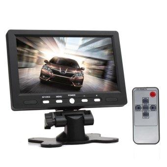 7 Inch 800 x 480 Color TFT LCD Screen AV HDMI VGA Car Rear View Monitor - intl