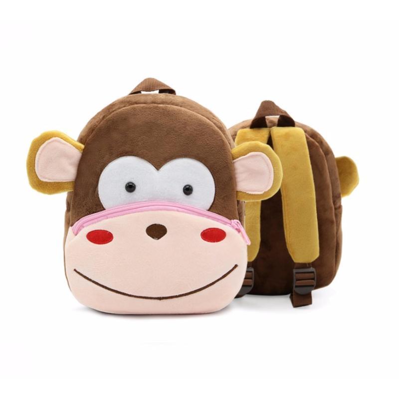 Giá bán Balo cao cấp cho trẻ em hình ngộ nghĩnh ( Con Khỉ)