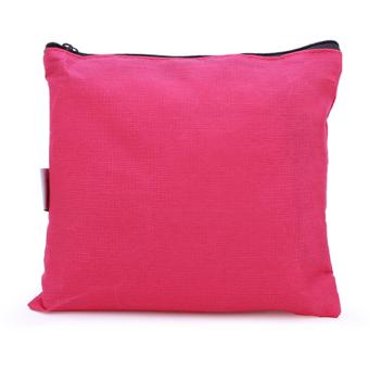 Balo du lịch gấp gọn chống thấm Carry bag (Hồng Đậm) - 3
