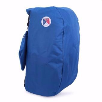 Balo du lịch gấp gọn chống thấm Carry bag - Phúc Anh (Xanh dương)