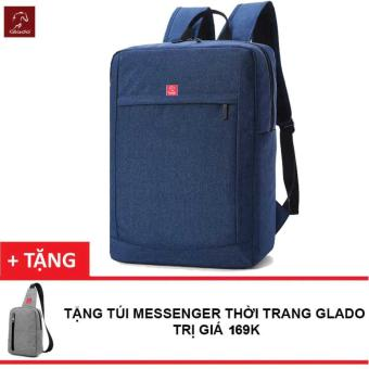 Balo Laptop Nam Zapas BLC011 (Xanh) + Tặng Túi Messenger Glado DCG026