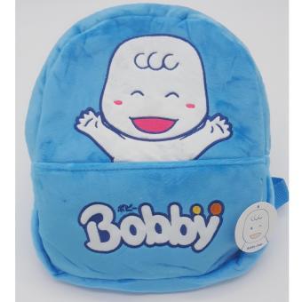 Balo vải nhung thêu hình Bobby Chan