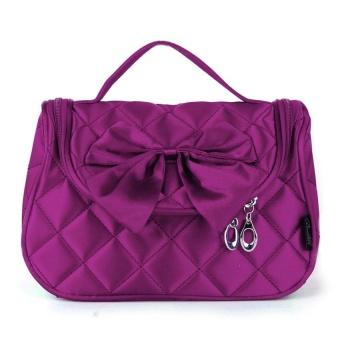 Bang Diamond Toiletry Bag Purplish Red - intl