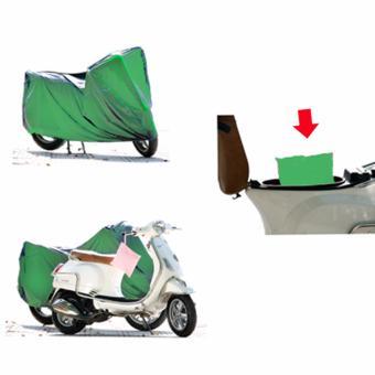 Bạt phủ xe máy chống nắng mưa (Màu ngẫu nhiên) - 4