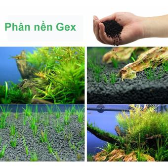 Bể Cá Cảnh Mini - Phân Nền Gex 2 kg dạng túi, cho cây thủy sinh, bể cá, ao cá, hồ cá....( Xanh)