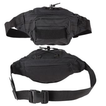 Black Outdoor Military Tactical Waist Pack Shoulder Bag Molle Camping Pouch