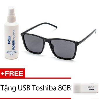 Đánh Giá Bộ 1 kính mát và chai nước lau kính MKH 9017 (Đen) + Tặng 1 USB Toshiba 8GB