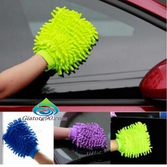 Bộ 10 găng tay chuyên dụng lau rửa xe hơi, ô tô đa năng 206241