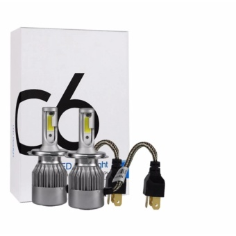 Bộ 2 bóng đèn led C6 H4 siêu sáng và ổn định cho mọi dòng xe ô tô