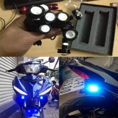 Bộ 2 đèn xi nhan nút áo cho xe máy cực chất