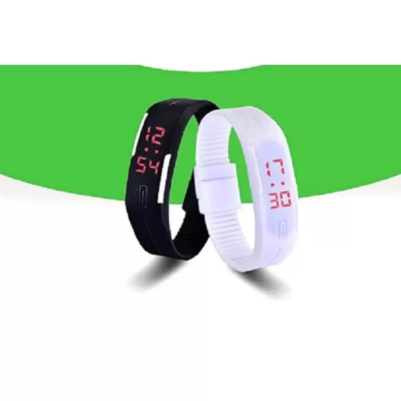 Nơi bán Bộ 2 đồng hồ LED cao cấp  TTP-217 (Trắng đen)