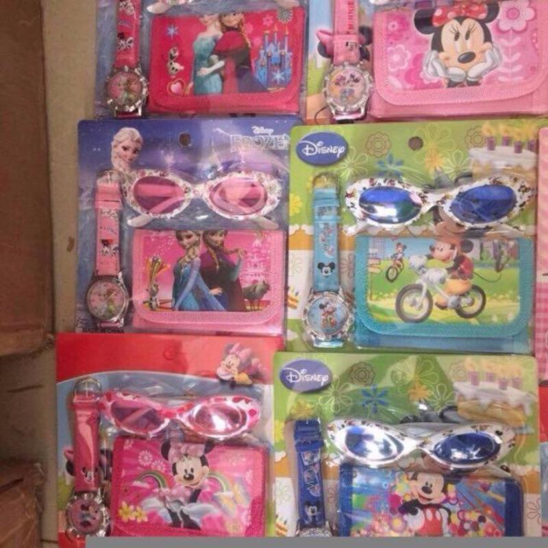 Mua Bộ 3 món mắt kính, ví, đồng hồ cho bé yêu ( màu ngẫu nhiên )