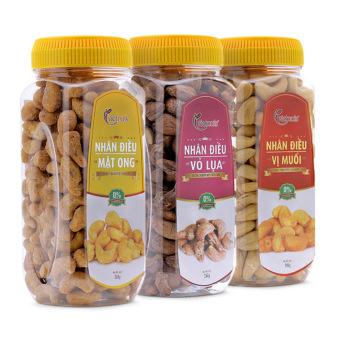 Bộ 3 sản phẩm hạt điều mật ong 300g + hạt điều rang muối 300g + hạt điều vỏ lụa 250g Vietnuts - 8831352 , VI927OTAA0UTXYVNAMZ-1100683 , 224_VI927OTAA0UTXYVNAMZ-1100683 , 381000 , Bo-3-san-pham-hat-dieu-mat-ong-300g-hat-dieu-rang-muoi-300g-hat-dieu-vo-lua-250g-Vietnuts-224_VI927OTAA0UTXYVNAMZ-1100683 , lazada.vn , Bộ 3 sản phẩm hạt điều mật ong
