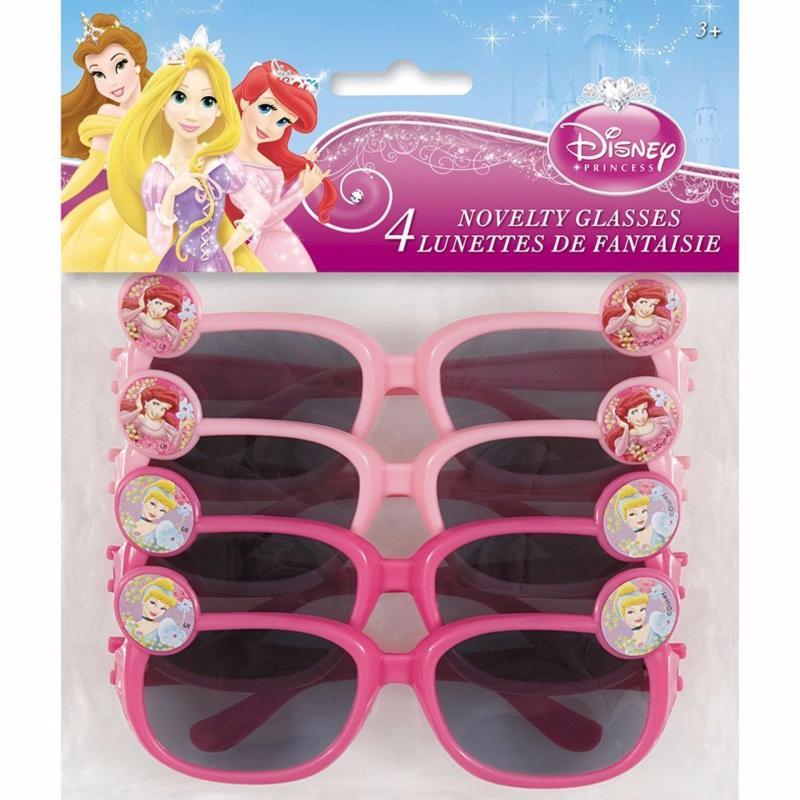 Mua Bộ 4 cặp mắt kính (gương) mát bé gái 2-15 tuổi Disney Princess Novelty Glasses (Mỹ)