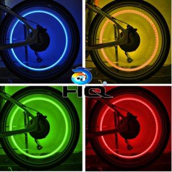 Bộ 4 Đèn Led Gắn Van Xe Trang Trí Và An Toàn Cho Ôto,Xe Máy Hq3Ti09-24(Đỏ) - 4